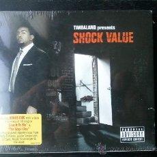 CDs de Música: TIMBALAND - TIMBALAND PRESENT: SHOCK VALUE - CD ALBUM + BONUS DISC - NUEVO. Lote 26753298
