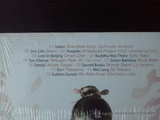 CDs de Música: ZEN BEATS - CHINESE AND ORIENTAL CHILL OUT - CD ALBUM - DRO - ATLANTIC - 2005 - Foto 3 - 26051937