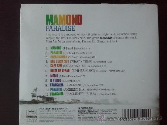 CDs de Música: MAMOND - PARADISE - GLOBALISED BRAZILIAN SOUNDSCAPES... - CD ALBUM - FAR OUT - 2002 - Foto 2 - 24343226