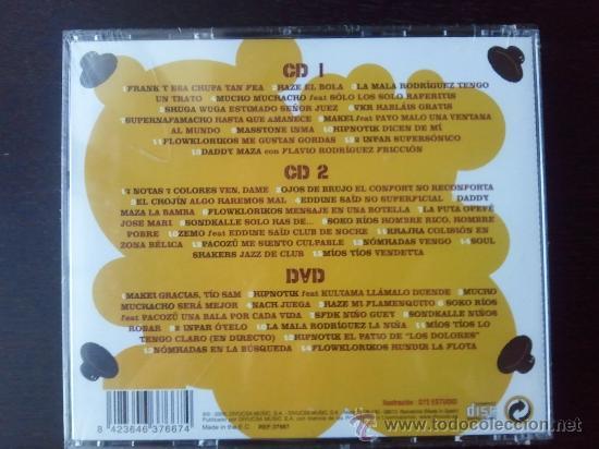 CDs de Música: JIP JOP CON J - LO MEJOR DEL HIP HOP EN ESPAÑOL - 2 CD + DVD - DIVUCSA - 2006 - Foto 3 - 27201888