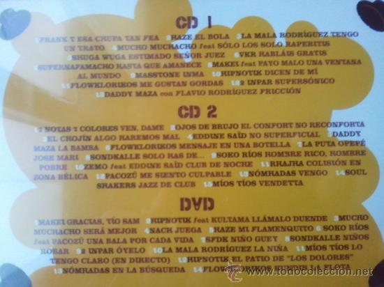 CDs de Música: JIP JOP CON J - LO MEJOR DEL HIP HOP EN ESPAÑOL - 2 CD + DVD - DIVUCSA - 2006 - Foto 4 - 27201888