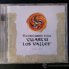 CDs de Música: II CONCURSO FOLK - CUARTU LOS VALLES - NAVELGAS ASTURIAS - CD ALBUM - 2003. Lote 27542286