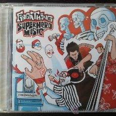 CDs de Música: FINGATHING - SUPERHERO MUSIC - CD ALBUM - GRAND CENTRAL - 2002. Lote 25163064