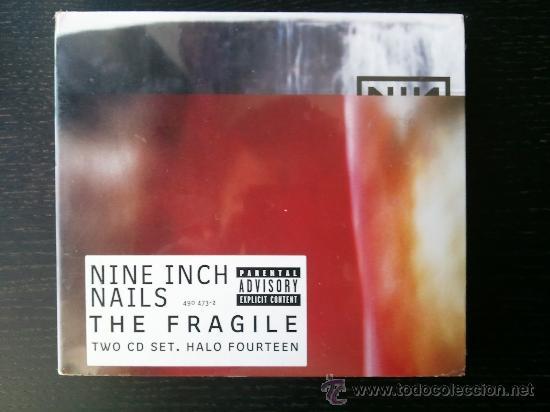 NINE INCH NAILS - THE FRAGILE - TWO CD SET - HALO FOURTEEN - 1999 (Música - CD's Heavy Metal)