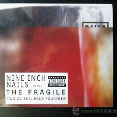 CDs de Música: NINE INCH NAILS - THE FRAGILE - TWO CD SET - HALO FOURTEEN - 1999. Lote 27281821