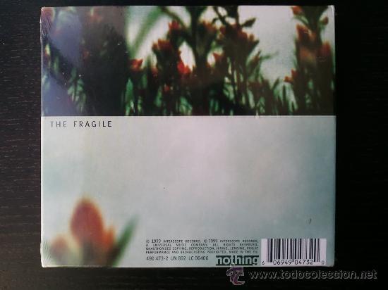 CDs de Música: NINE INCH NAILS - THE FRAGILE - TWO CD SET - HALO FOURTEEN - 1999 - Foto 2 - 27281821