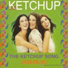 CDs de Música: LAS KETCHUP - ASEREJÉ - CD SINGLE - VERSIÓN EN SPANGLISH + VERSIÓN KARAOKE, 2002. Lote 26265105