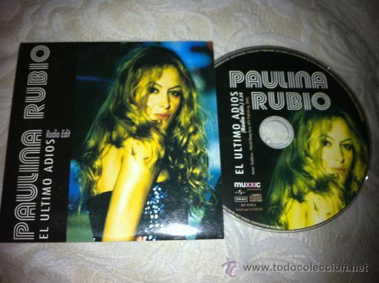 PAULINA RUBIO - EL ULTIMO ADIOS ( CD SINGLE ) (Música - CD's Rock)