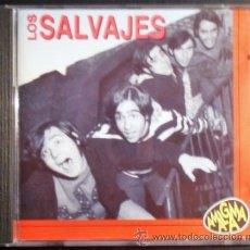 CDs de Música: CD DE LOS SALVAJES 8 TEMAS BUENISIMOS, CORRE CORRE, LA NEURASTENIA, SOY ASÍ, SATISFACCIÓN, ETC. Lote 26604364