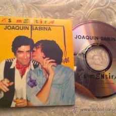 CDs de Música: JOAQUIN SABINA - ES MENTIRA ( CD SINGLE). Lote 23533763