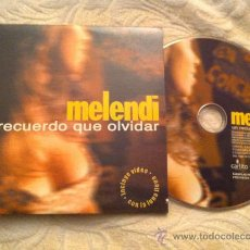 CDs de Música: MELENDI - UN RECUERDO QUE OLVIDAR ( CD SINGLE). Lote 23555982