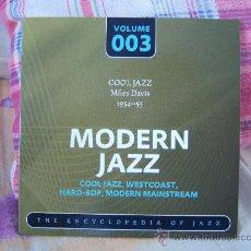 CDs de Música: MILES DAVIS 1954-55 (MILT JACKSON, THELONIOUS MONK, PERCY HEATH, KENNY CLARKE). Lote 27585831