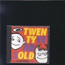 CDs de Música: TWENTY YEARS OLD CRACKLIN. Lote 23643986