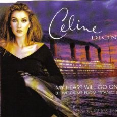 CDs de Música: CELINE DION - CD MAXI SINGLE 4 TRACKS - MY HEART WILL GO ON (TITANIC) + 3 - EDITADO EN AUSTRIA, 1997. Lote 23867597