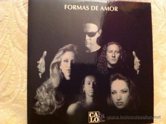 Calo Formas De Amor Cd Single Promo Buy Cds Of Pop Music At