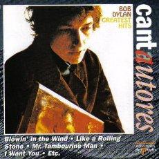 CDs de Música: BOB DYLAN - GREATEST HITS - CD ALBUM - 10 TRACKS - 40 MINUTOS - EDICIONES DEL PRADO - 1996.. Lote 24075150