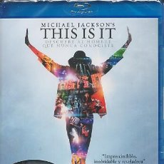 CDs de Música: MICHAEL JACKSON - THIS IS IT (FORMATO BLU-RAY) (V.O.S.) PRECINTADO. Lote 24090918
