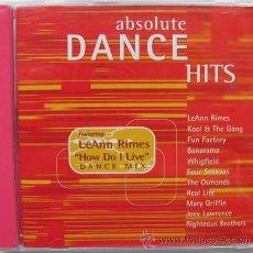 CDs de Música: ABSOLUTE DANCE HITS - CD 1998. Lote 24094930