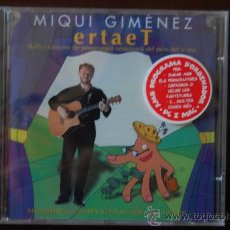CDs de Música: CD DE MIQUI GIMENEZ ERTET. Lote 26919485