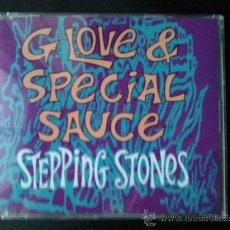 CDs de Música: STEPPING STONES - GLOVE & SPECIAL SAUCE - CD SINGLE - PROMO - SONY - 1997. Lote 24260187