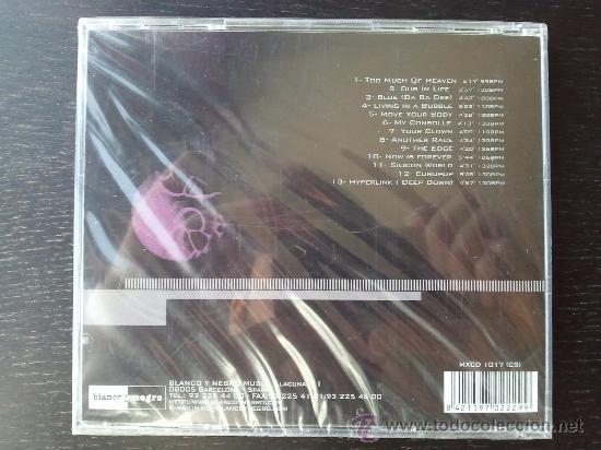 Eiffel 65 - europop - cd album - blanco y negro - Sold