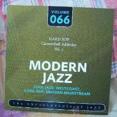 CDs de Música: CANNONBALL ADDERLEY VOL. 3 (NAT ADDERLEY, JUNIOR MANCE, SAM JONES, JIMMY COBB). Lote 24278907