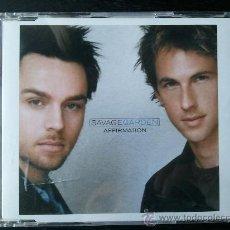 CDs de Música: SAVAGE GARDEN - AFFIRMATION - CD SINGLE PROMO - 2 TRACKS - COLUMBIA - 2000. Lote 24297060