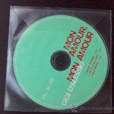 CDs de Música: GIGI D´ALESSIO - MON AMOUR, MON AMOUR - CD SINGLE - 3 TRACKS - BMG - 2001. Lote 24297478