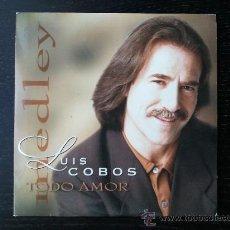 CDs de Música: LUIS COBOS - TODO AMOR - MEDLEY PROMO - SONY - 1997. Lote 24298188