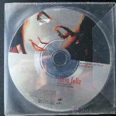 CDs de Música: JULIETA VENEGAS - SERÍA FELIZ - CD SINGLE - PROMO - BMG - 2000. Lote 24298288