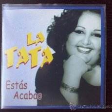 CDs de Música: LA TATA - ESTÁS ACABAO - CD SINGLE - PROMO - PEP´S - 2001. Lote 24298382