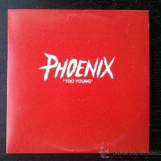CDs de Música: PHOENIX - TOO YOUNG - CD SINGLE - PROMO - SOURCE - 2001. Lote 24298821