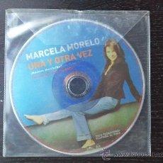 CDs de Música: MARCELA MORELO - UNA Y OTRA VEZ - CD SINGLE - PROMO - RCA - 2001. Lote 24298877