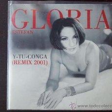 CDs de Música: GLORIA ESTEFAN - Y TU CONGA - REMIX 2001 - CD SINGLE - PROMO - 2 TRACKS - 2001. Lote 24335492