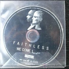 CDs de Música: FAITHLESS - WE COME ONE - CD SINGLE - PROMO - BMG - CHEEKY - 2001. Lote 24335944