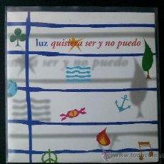 CDs de Música: LUZ CASAL - QUISIERA SER Y NO PUEDO - CD SINGLE - PROMO - EMI - 2000. Lote 24336094