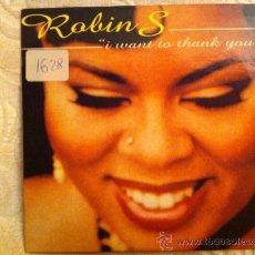 CDs de Música: ROBIN S - I WANT TO THANK YOU. Lote 24303531