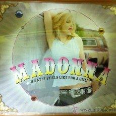 CDs de Música: MADONNA - WHAT IT FEELS LIKE FOR A GIRL ( CD SINGLE PROMO). Lote 24323523