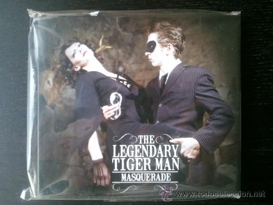 THE LEGENDARY TIGER MAN - MASQUERADE - CD + DVD - CDR RECORDINGS - 2006 (Música - CD's Rock)