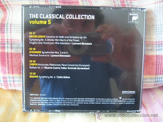 CDs de Música: (4CD) MENDELSSOHN/SCHUMANN/CHOPIN/BRAHMS - Foto 2 - 24360156