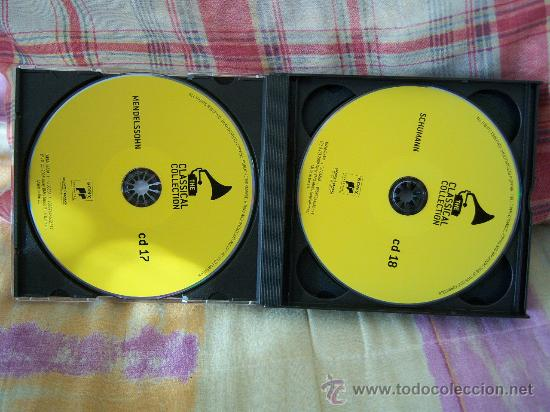 CDs de Música: (4CD) MENDELSSOHN/SCHUMANN/CHOPIN/BRAHMS - Foto 3 - 24360156