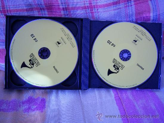 CDs de Música: (4CD) MENDELSSOHN/SCHUMANN/CHOPIN/BRAHMS - Foto 4 - 24360156
