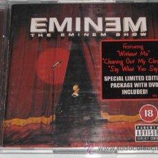 CDs de Música: EMINEM - THE EMINEM SHOW - CD - DVD - EDICION ESPECIAL LIMITADA CON DVD - 20 TRACKS- COMO NUEVO. Lote 108221976