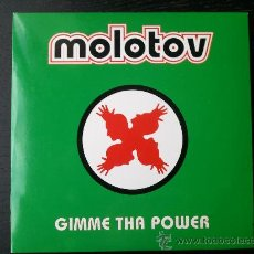 CDs de Música: MOLOTOV - GIMME THA POWER - CD SINGLE - PROMO - UNIVERSAL - MEXICO - 1997. Lote 24413984
