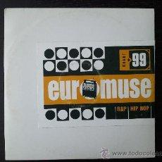 CDs de Música: EUROMUSE - RAP HIP HOP - CD - CHART 99. Lote 24414106