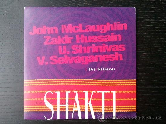SHAKTI - REMEMBER - CD SINGLE - PROMO - 6 LIVE TRACKS - UNIVERSAL - 1999 (Música - CD's World Music)