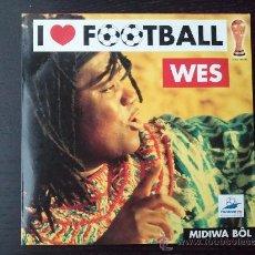 CDs de Música: WES - I LOVE FOOTBALL - CD SINGLE - PROMO - 2 TRACKS - SONY - 1998. Lote 24416997