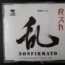 CDs de Música: NONFIRMATO - RAN - CD SINGLE - PROMO - LUIGGI - 1995. Lote 24417557
