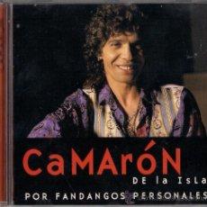 CDs de Música: CAMARÓN - POR FANDANGOS PERSONALES. Lote 46106376