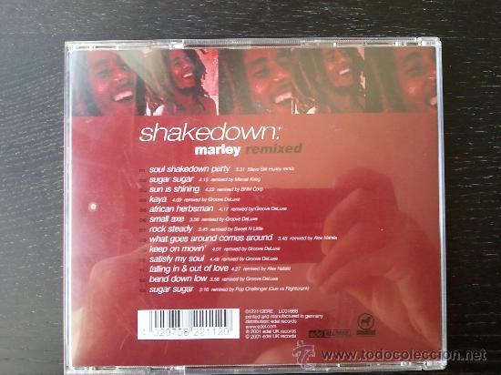CDs de Música: SHAKEDOWN - BOB MARLEY - REMIXED - CD ALBUM - EDEL - 2001 - Foto 2 - 24822556
